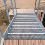 Balkon inkl. Treppe